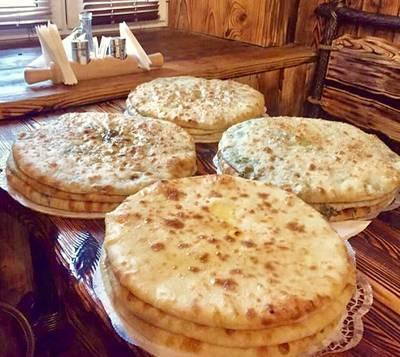 Даводжын (пирог с листьями черемши)